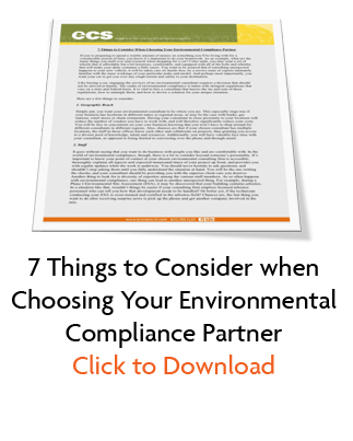 Download 7 Things to Consider When Choosing and Environmental Services Partner