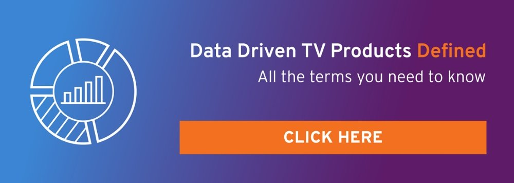 Data Driven TV Products