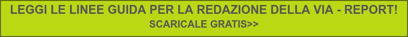 LEGGI LE LINEE GUIDA PER LA REDAZIONE DELLA VIA - REPORT!  SCARICALE GRATIS>>