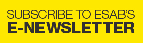 Subscribe to ESAB's  E-Newsletter