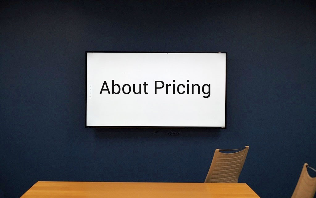 About Pricing