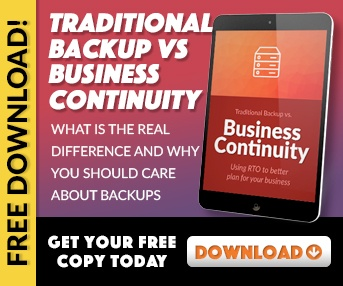 Traditional Backup vs. Business Continuity