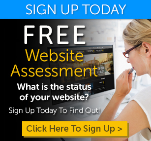 Click here to sign up for a Free website assessment.