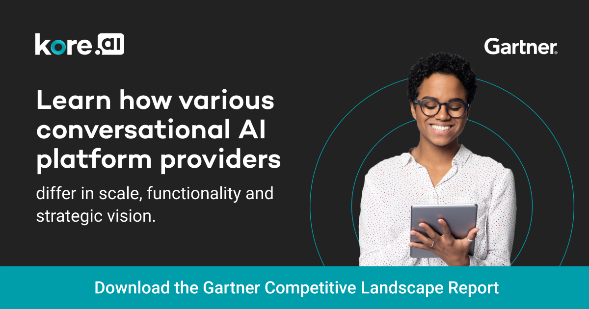 Click to Download the Gartner Competitive Landscape Report