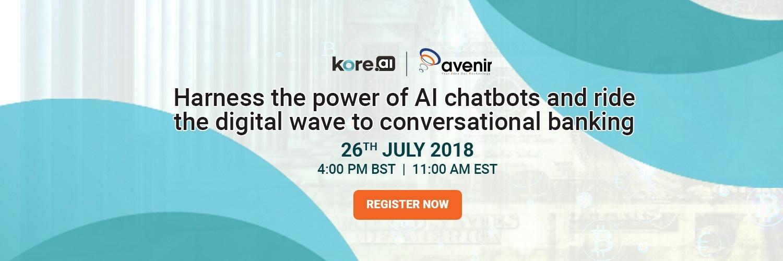 Webinar on AI banking chatbots