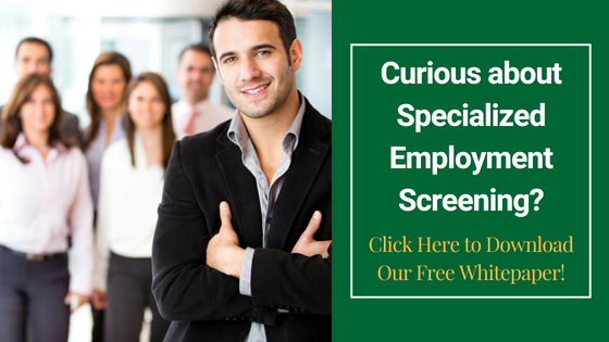 CLICK HERE To Download our Free Employment Screening Whitepaper