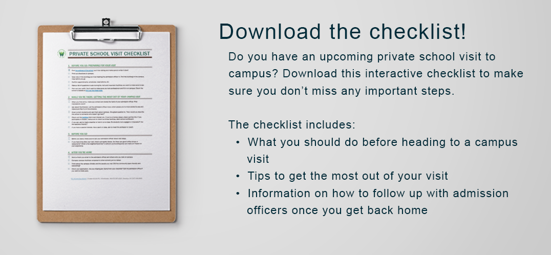 Download the checklist!