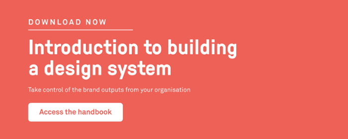 Handbook: Intro to building design systems