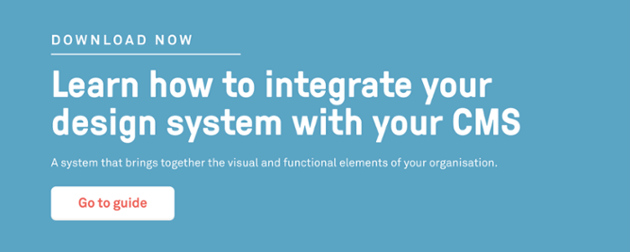 Learn how to integrate your design system with your cms