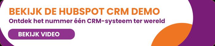 HubSpot CRM demo