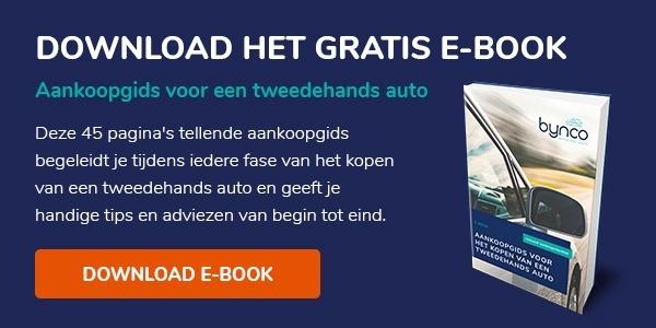 Download het e-book: aankoopgids voor een tweedehands auto