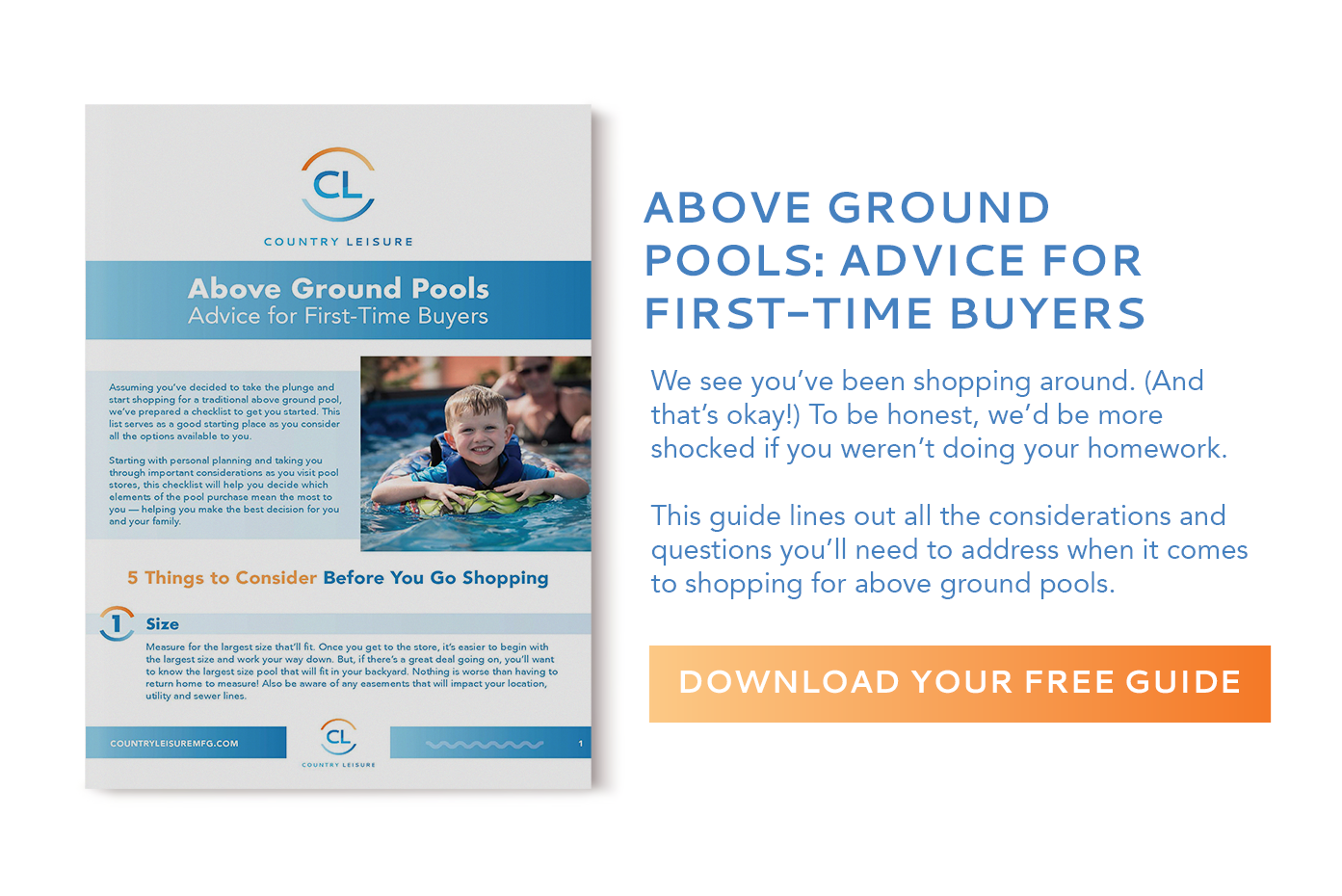 above ground pool buyers guide photo
