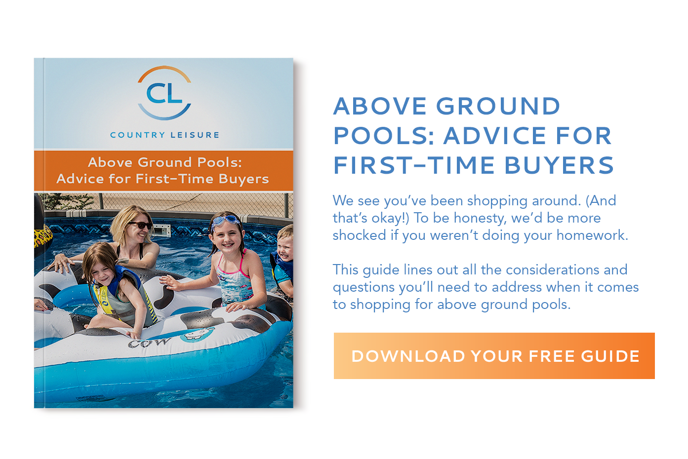 Above Ground Pools: Advice for First-Time Buyers