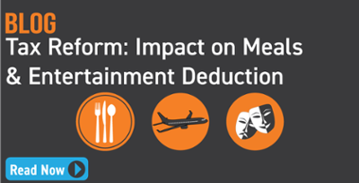 Tax Reform: Impact on Meals & Entertainment Deduction