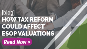 Click to read a blog on how the tax reform could affect ESOP