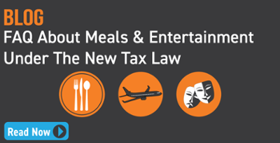 Meals & Entertainment Deduction FAQ