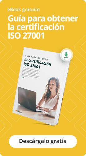 Guía gratuita para obtener la certificación ISO 27001