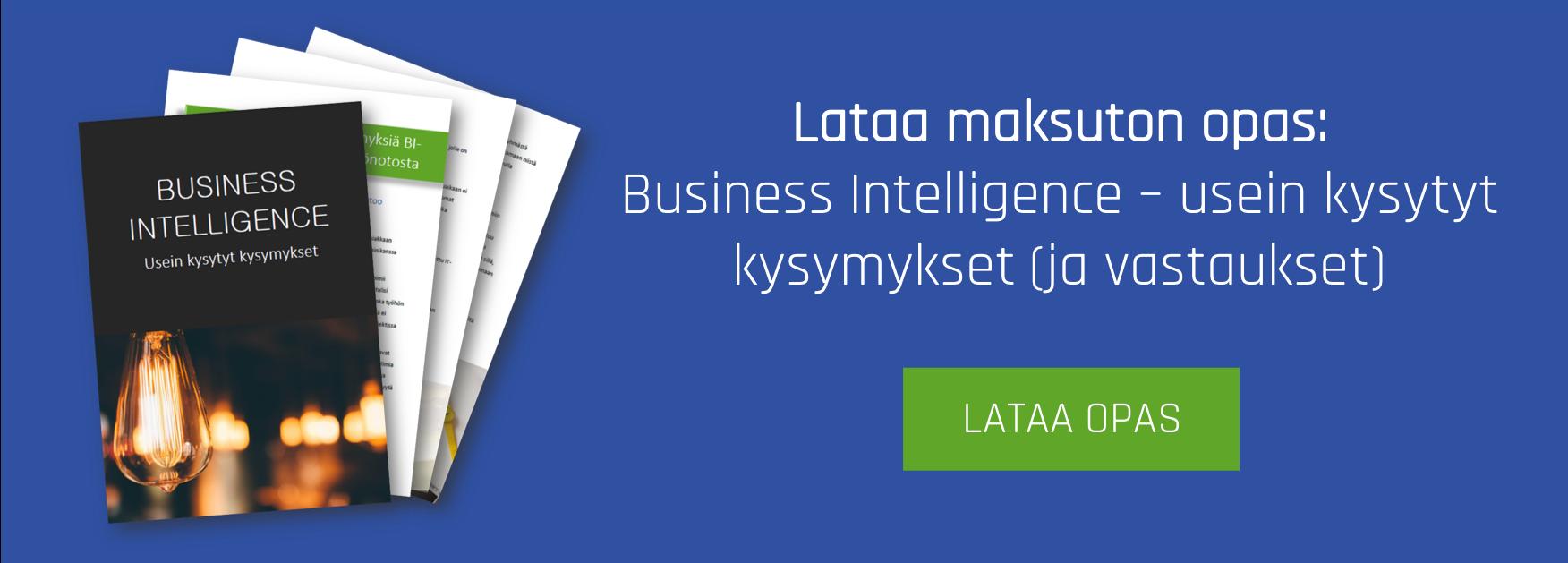 Business Intelligence - Usein Kysytyt Kysymykset