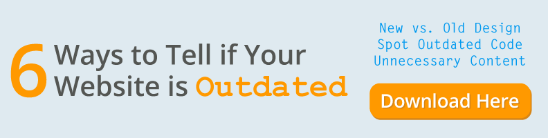 6 Ways to Tell Your Website is Outdated free download