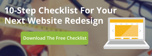 10 Step checklist for your next website design
