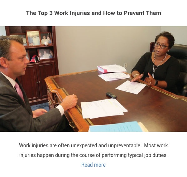 The Top 3 Work Injuries and How to Prevent Them Blog