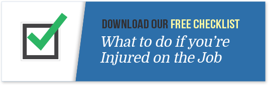 checklist what to do if you're injured on the job