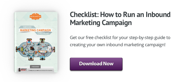 Get your free checklist to run an Inbound Marketing Campaign!