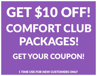 Get $10 Off Comfort Club Packages
