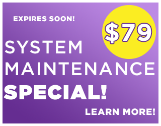 $79 System Maintenance Special