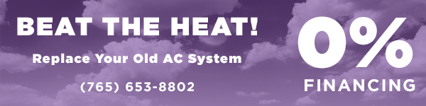 Beat the heat with 0% financing on new sytems