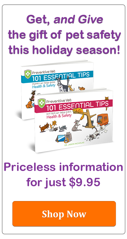 Buy one, get one, pet health and safety tips book