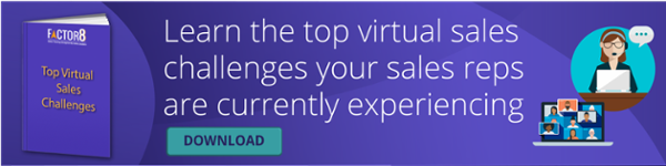 virtual sales challenges