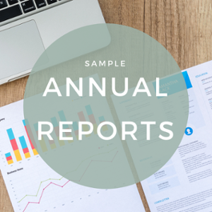 parish annual financial report samples