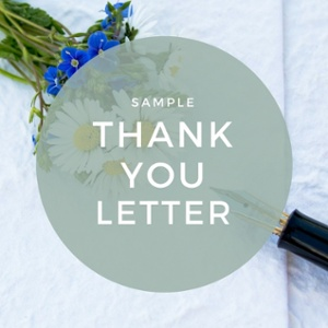 capital campaign thank you template