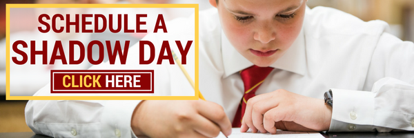 Schedule a Shadow Day Catholic school chicago