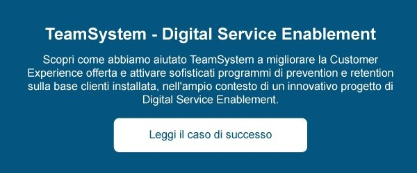 Case TeamSystem - Digital Service Enablement