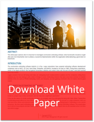 Estimating Software White Paper