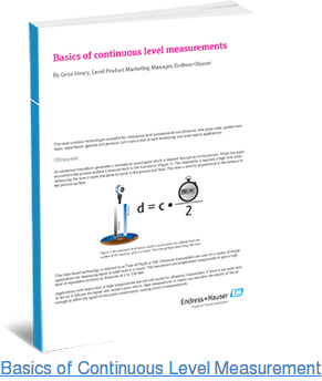 Basics of Continuous Level Measurement