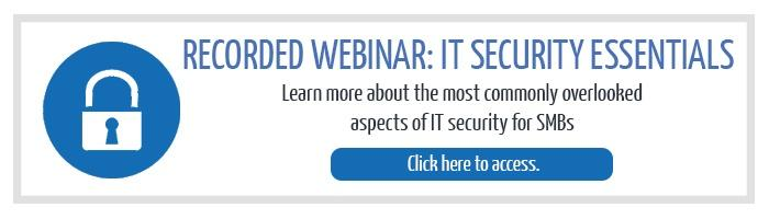 IT Security Webinar