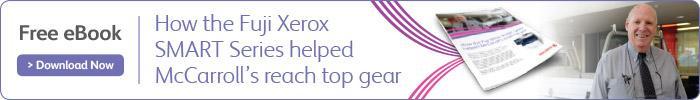 Fuji Xerox Smart Series Helps McCarrolls
