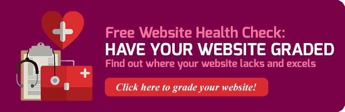 Free Website Heath Check: Click here!