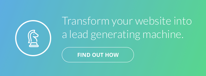 Transform your website into a lead generating machine