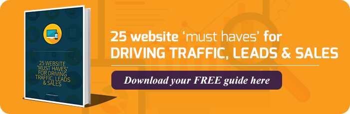 """Download E-Book:  """"25Website Must Have's..."""""""