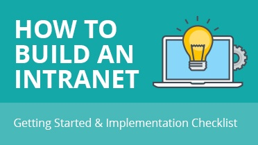 How to Build an Intranet