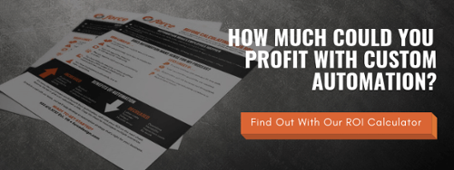 Find out how much you could profit with custom automation with our ROI calculator
