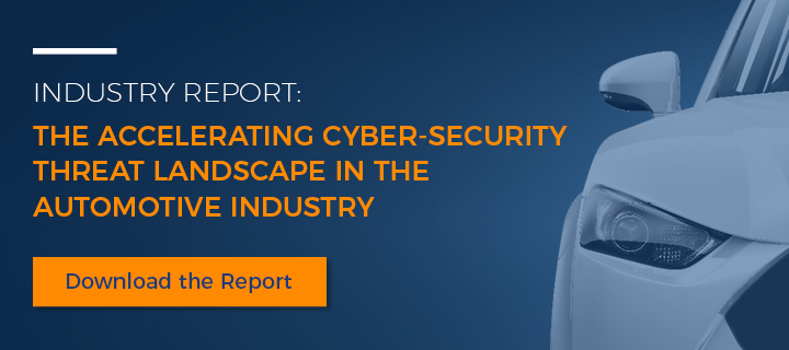 The cyber security threat landscape for automotive market and connected vehicles cyber defense
