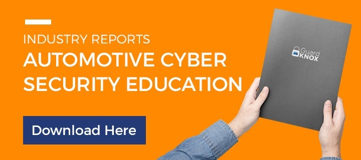Automotive cybersecurity industry reports from GuardKnox