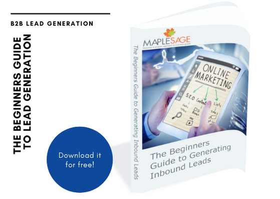 the beginners guide to B2B inbound lead generation