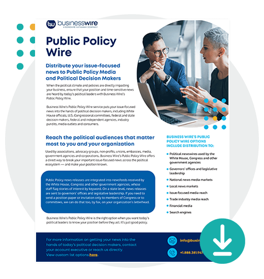 Business Wire Public Policy Services