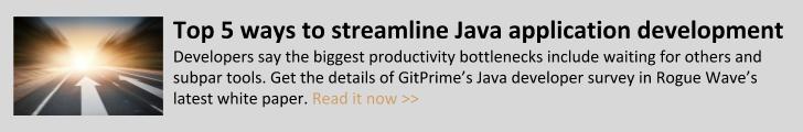 Streamline Java application development